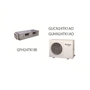 داکت اسپلیت کانالی تروپیکال R22 گری مدل GUHN24TK1AO