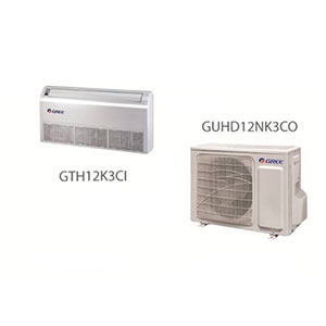 اسپلیت سقفی زمینی اینورتر گری مدل GUHD12NK3CO