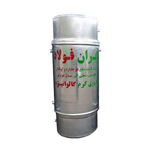 منبع دوجداره 500 لیتری ایران فولاد