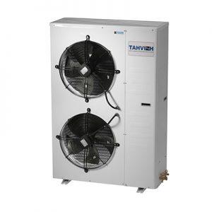 مینی چیلر سرمایشی R407c تهویه مدل TAM-WP3-40C2 دارای عملکرد سرمایشی میباشد. ظرفیت سرمایشی این مدل 144,300 بی تی یو بر ساعت است. کمپرسور این مینی چیلر