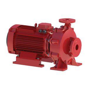 پمپ آتش نشانی سمنان انرژی مدل 250/2202-40